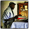 Morning service, Tifereth Israel Synagogue, House of Israel, Ghana
