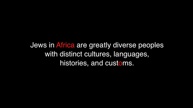 Jewish Africa PRESENTATION (version 3, March 2014)