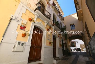 ES 100  Synagogue, former, in Melilla Vieja (Old Melilla)  Melilla (Spain)