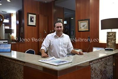 ES 777  Receptionist, Hotel Rusadir  Melilla (Spain)
