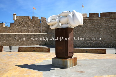 ES 37  Sephared sculpture  Melilla (Spain)