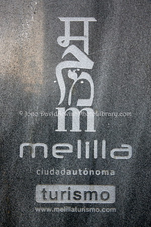 ES 778  Melilla tourism logo  Melilla (Spain)