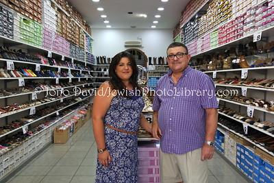 ES 765  Owners, Eclipse shoe store  Melilla (Spain)