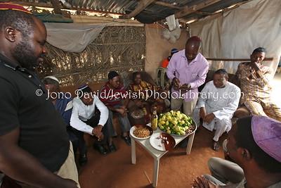 NG 407  Community meeting and members, at Tikvat Israel Synagogue, Kubwa, Abuja, Nigeria