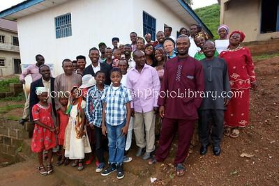 NG 156  Community members, Ghihon Hebrews' Synagogue  Jikwoyi, Abuja, Nigeria