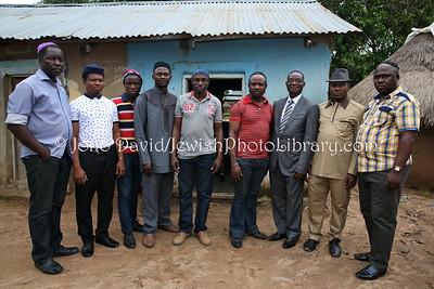NG 494  Community members, Beit Knesset Siyah Yisrael, Gudaba, Abuja, Nigeria