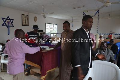 NG 73  Post-Shabbat, Ghihon Hebrews' Synagogue  Jikwoyi, Abuja, Nigeria