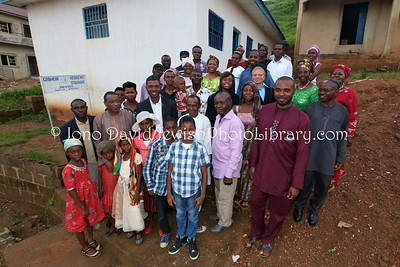NG 162  Community members, Ghihon Hebrews' Synagogue  Jikwoyi, Abuja, Nigeria