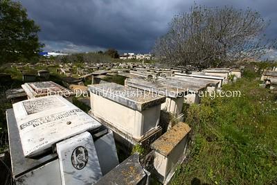 TN 292  Jewish Cemetery Borgel  Tunis, Tunisia