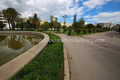 TN 44  Parc Habib Thameur, site of a Jewish Cemetery  Tunis, Tunisia