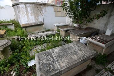 TN 389  Jewish Cemetery Borgel  Tunis, Tunisia