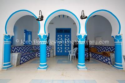 TN 538  Beit Midrash, Synagogue Mishkan Yaacov  Zarzis, Tunisia