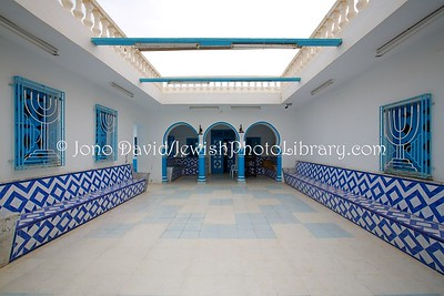 TN 536  Beit Midrash, Synagogue Mishkan Yaacov  Zarzis, Tunisia