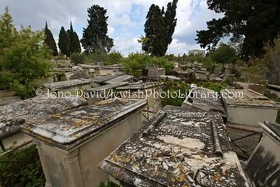 TN 301  Jewish Cemetery Borgel  Tunis, Tunisia