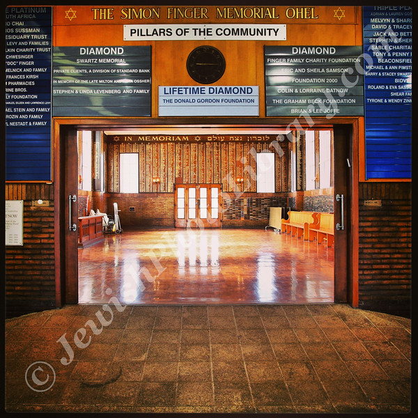 West Park Cemetery (Jewish Sector), Memorial Hall, Johannesburg, South Africa