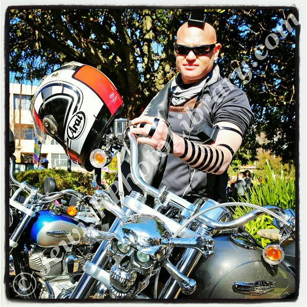 Cycalive, Torah Academy  Steel Wings biker club member  Johannesburg, South Africa
