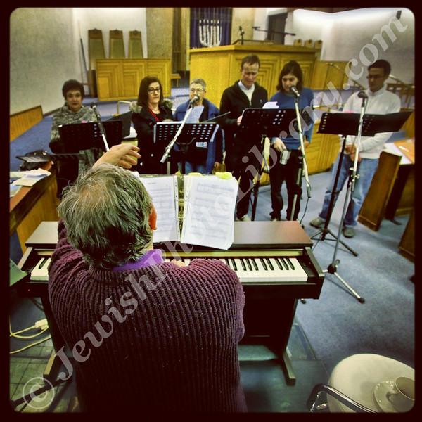 Choir practice  Beit Emanuel Progressive Hebrew Congregation  Johannesburg, South Africa
