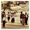 Bus stop  Dung Gate, Old City Jerusalem, Israel