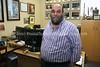 ZA 6671  Rabbi Moshe Silberhaft, aka the Travelling Rabbi, in his office, Beyachad  Johannesburg, South Africa